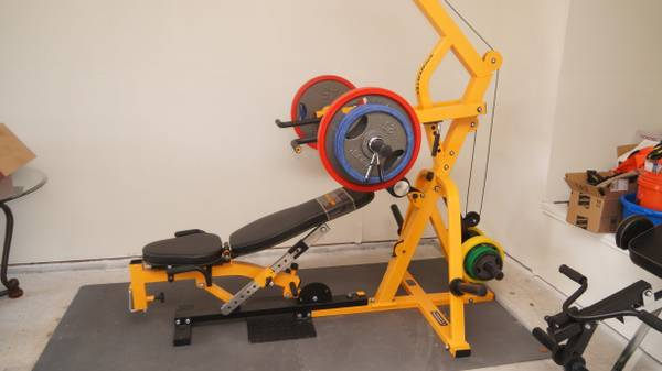 Like New Powertec Leverage Weight Workout Gym With Lots of Extras... (Killeen)