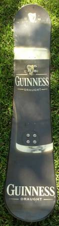 Guinness snowboard snow board Guiness - $60 (Killeen)