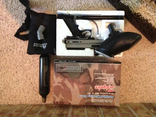 Spyder Paintball Gun 68 Cal. Semi-Automatic - $40 (Temple, TX)