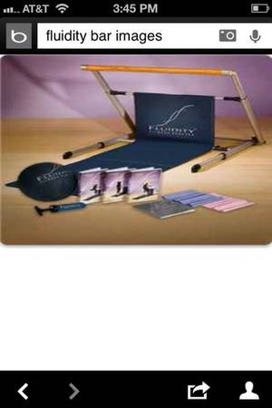 Fluidity Bar and DVDs - $60 (West Fort Hood)