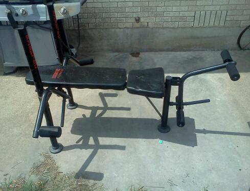 Exertec Fitness weight bench - $35 (salado, tx)