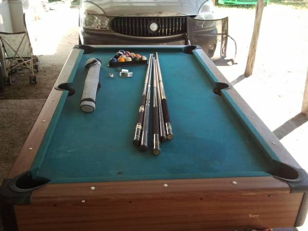 6 ft pool table for sell or trade - $120 (killeen)