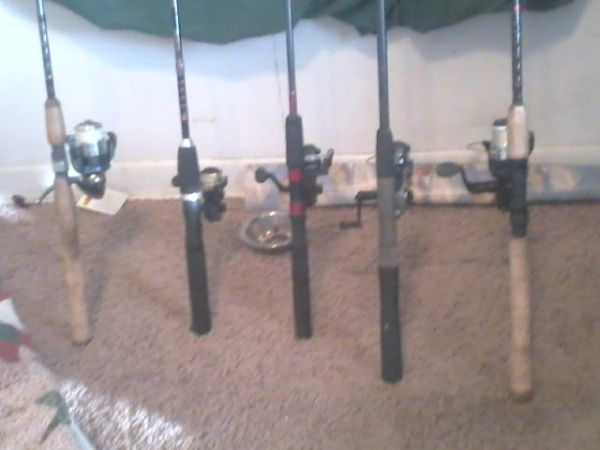 fishin rods and reels - $125 (Harker Heights)