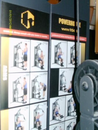 Impex powerhouse Wm 1501 total strength series home gym - $250 (Temple)