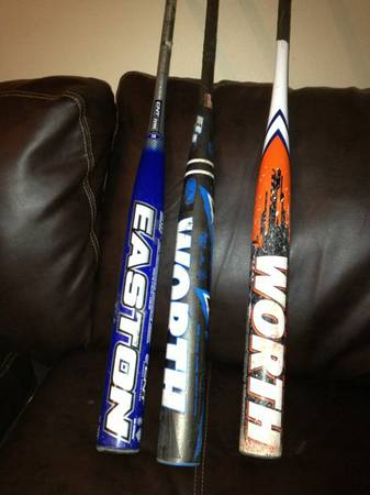Softball bats2013 bj fulkworth resmondoeaston synergy flex