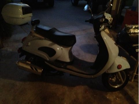 2005 150cc Diamo retro scooter  - $1200 (Temple)