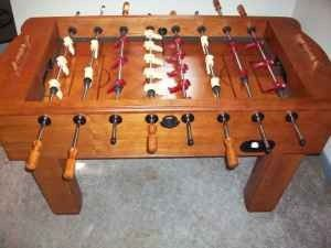 Fooseball Table - Solid Wood - $200 (Belton)