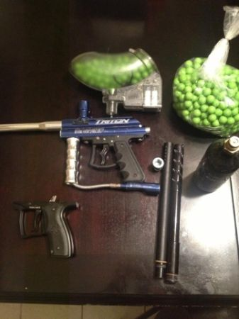 Triton paintball gun and accessories - $70 (killeen )