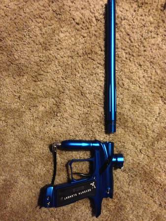 G4 Paintball gun blue w black trim - $420 (killeen, ft.hood)