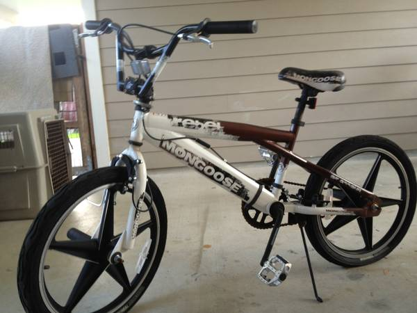 20 MONGOOSE REBEL FREESTYLE BIKE - $40 (FORT HOOD)
