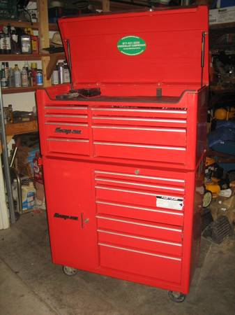 1200 Tools organized in 2 Snap On Cabinets - $1450 (Harker Heights)