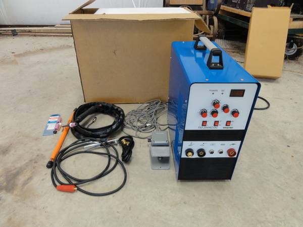 TIG Welder w Foot pedal, tungsten filler rods, more accessories - $600 (Killeen, TX)