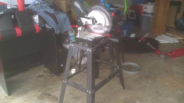 CRAFTSMAN miter saw w laser trac - $120 (killeen)
