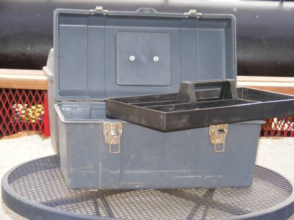 TOOL BOXES SMALL - $4 (COPPERAS COVE)