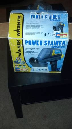 Wagner Power Stainer Sprayer - $20 (Copperas Cove)