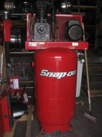 SNAPON 80 gallon Air Compressor worth $4k asking $1800 (AUSTIN)