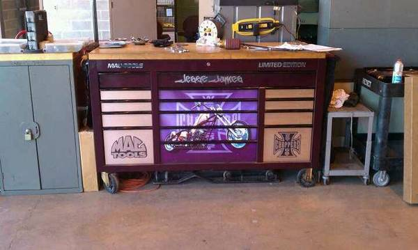 Limited Edition Jesse James toolbox and tools - $7000 (Killeen, TX)