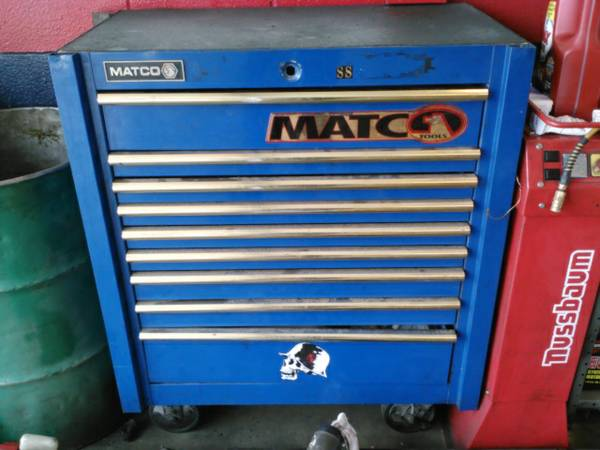 Matco TOOLBOX... jus needs a new lock - $400 (harker heights)