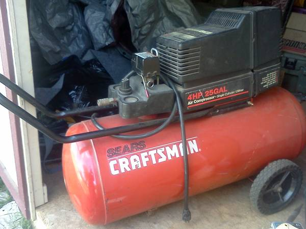 Craftsman 4HP 25 Gal Air Compressor - $80 (Belton)
