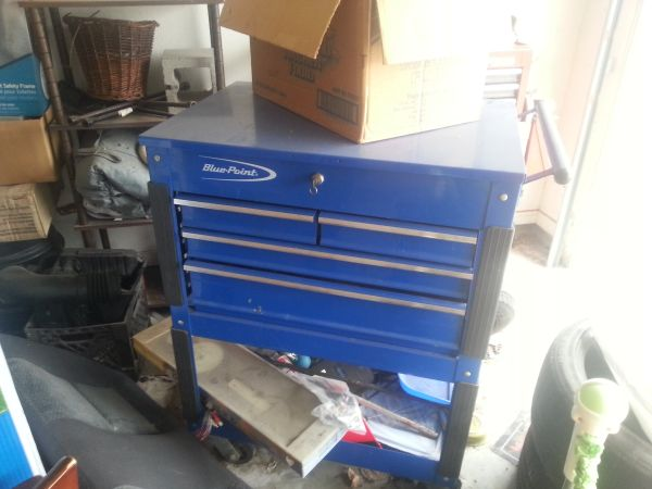 Blue Point roll cart, snap on - $325 (harker heights)