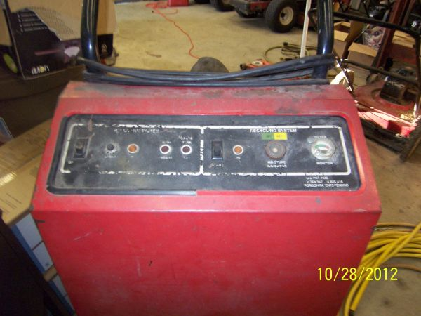 AC Recovery Machine - $100 (Temple)