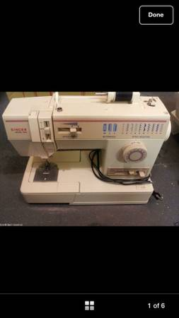 Used Singer Sewing Machine Model 9410 - $100 (Temple)