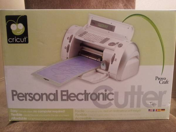Cricut Personal Electronic Cutter by Provo Craft - $70