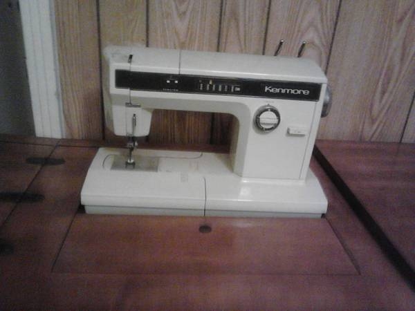 Sears Kenmore sewing machine with cabinet - $150 (Waco)