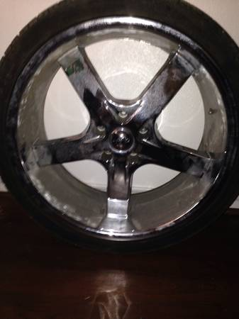 22 u2 rims set of 5 - x00241500 (Killeen)