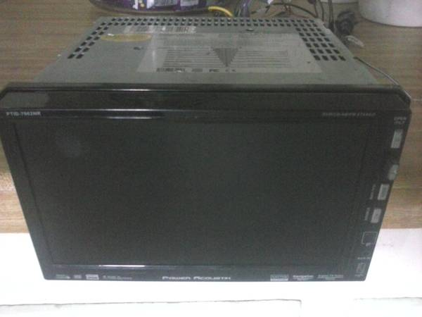 POWER ACOUSTIK 7IN AUDIO STEREO SCREEN - $150 (COPPERAS COVE)