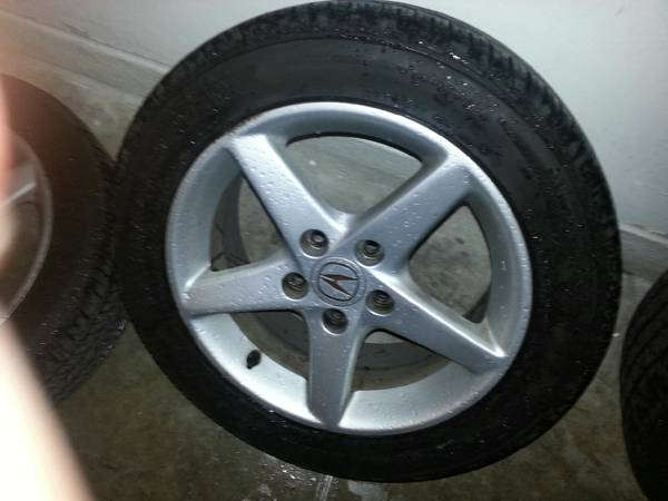 rsx rims and tires - $150 (willow spring)