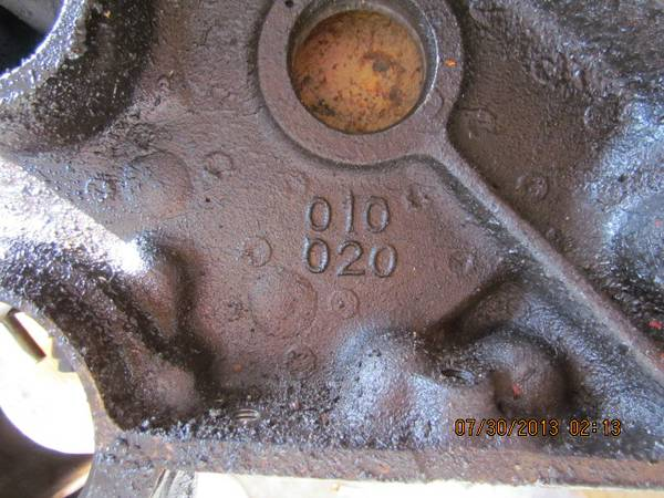 Chevy 350 4 bolt main 3970010 block - $275 (Copperas Cove)