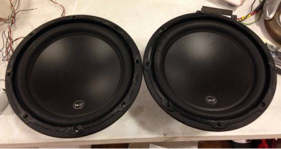 JL Audio W3 10 inch Subwoofers - $200 (Temple)