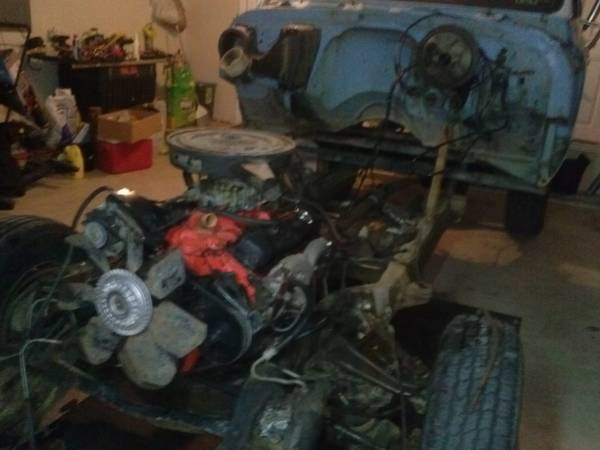 chevy 350 small block with turbo 400 transmission - $700 (killeen )