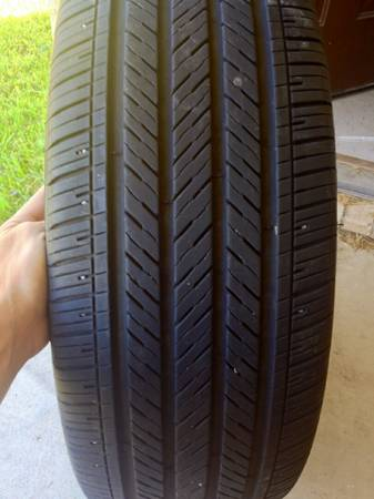 like new stock rims and tires off a 2013 Charger - $500 (killeen)