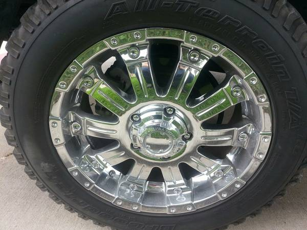 20 Chrome Rims 285 Tires - $500 (Hillsboro)