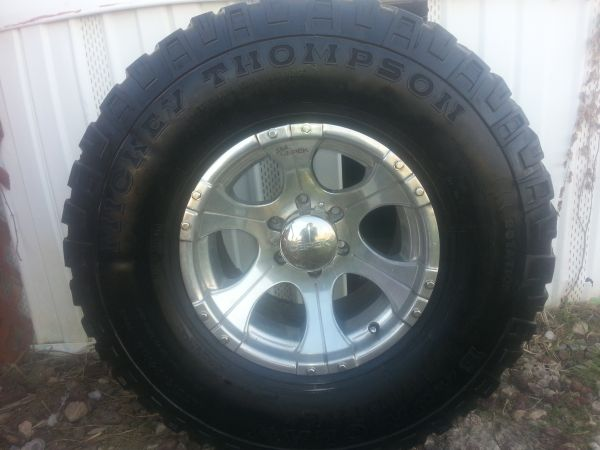Mickey Thompson Tires and rims - $800 (killeen-temple, TX.)