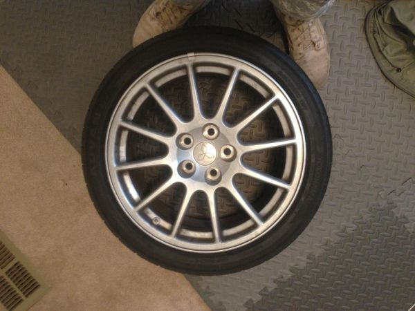 evo x GSR rims - $400 (harker heights)