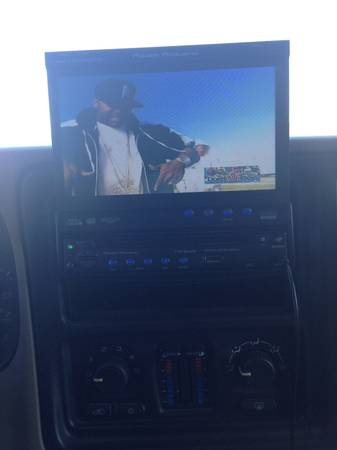 $250 OBO Power Acoustik 7in touch screen in dash Car TV - $250 (Harker Heights)