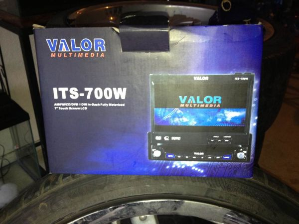 Touch Screen Flip Out Radio Deck - $300 (Killeen)