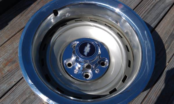 15X8 Chevy Truck Rally Wheels - $200 (Kempner Area)