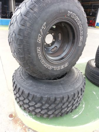 35 12.50 R15 TIRES SET - $350 (TEMPLE TX)