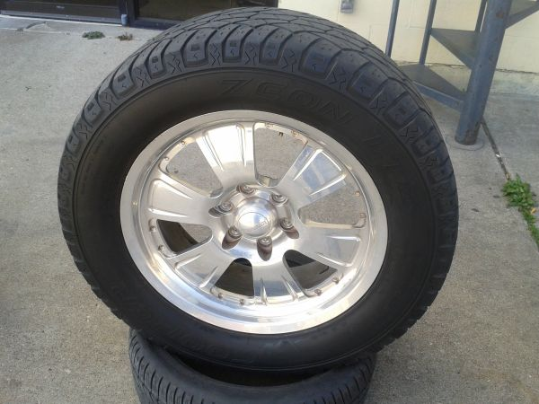 20 Centerline Pollished Wheels With Cooper All Terrains - $800 (Killeen Tx)