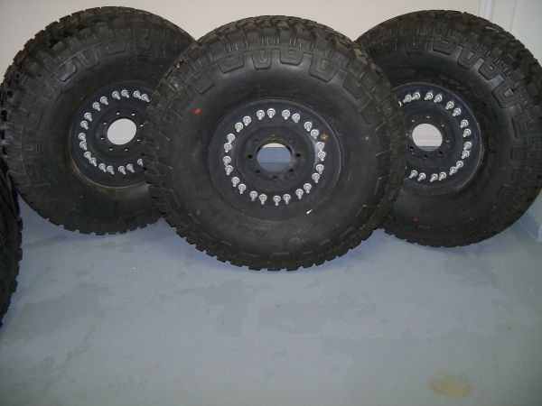 Goodyear Wrangler MTR 37x12.5x16.5 Tires and Rims - $1500 (Killeen)