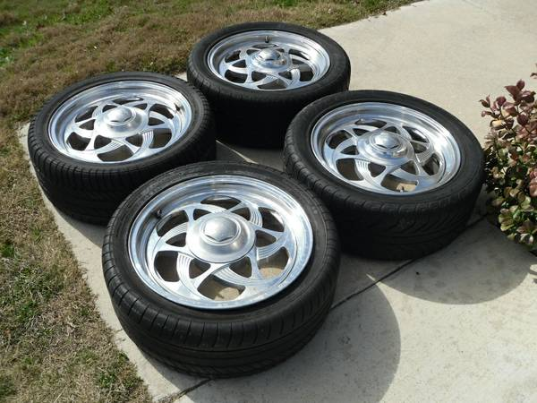 Billet Specialty Boyd Wheels Rims 6x5.5 GM Chevy 6 lug low pro TIRES - $200 (Copperas Cove)