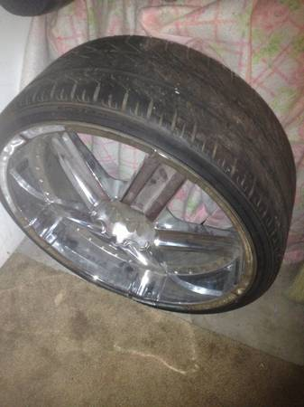 24 inch rims EDGE HYPE RIMS 24S DEEP LIP BUT NO CENTERCAPS - $1150 (cove, FT HOOD, KILLEEN, HH, TEMPLE)