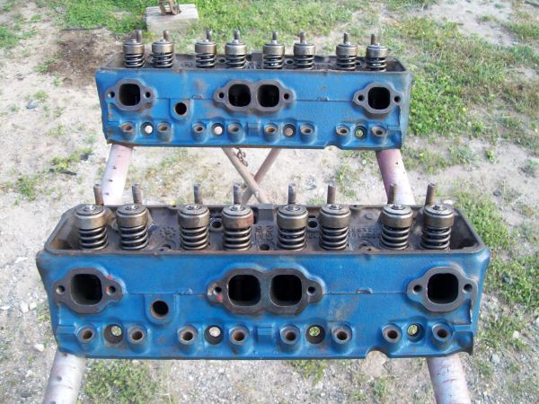 S.B. Chevy Camel Hump heads - $350 (Leander TX nw of Austin)