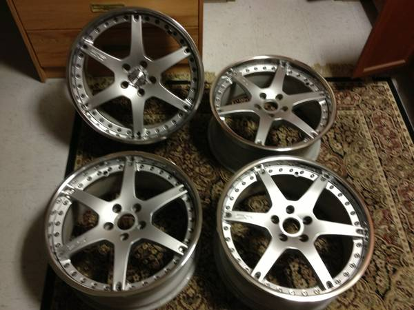3PC O.Z. WHEELS RARE 19 LIMITED ED DISCONTINUED - $1400 (COVE)