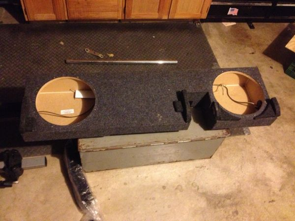 2-12 speaker box for Ford F150 - $75 (Killeen)