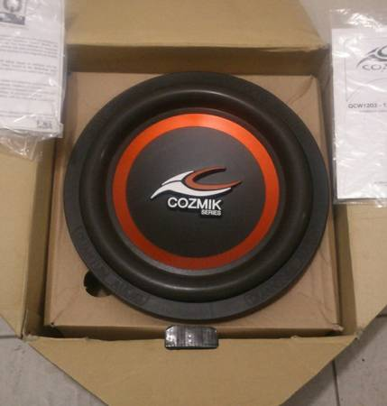 10 1500 watt Subwoofer - $100 (Fort Hood)